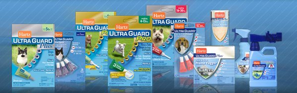 Hartz Ultraguard Flea Products