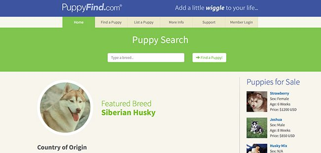 What is PuppyFind?