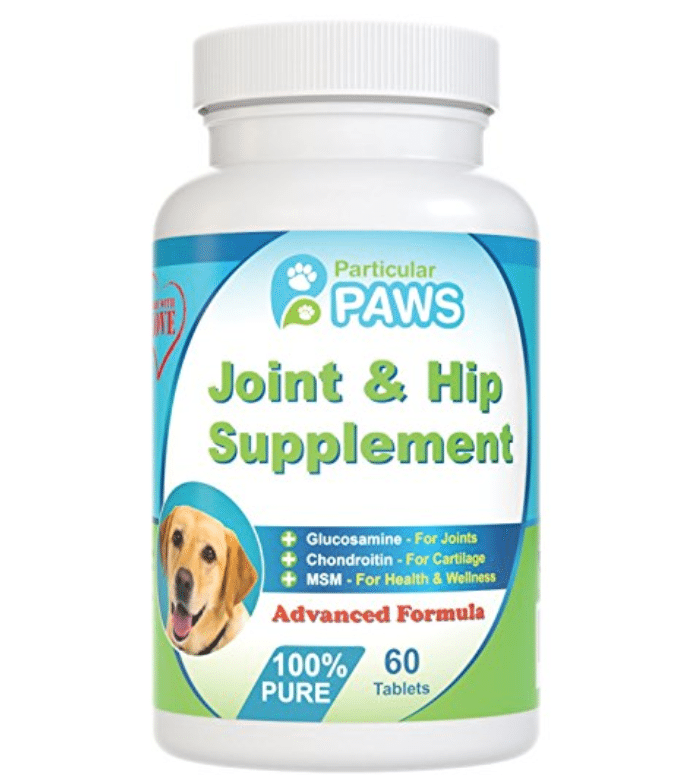 Looking for a glucosamine supplement for your pet? Consider Particular Paws' Joint & Hip Supplement!