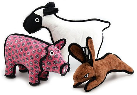 Tuffy Dog Toys are ideal for dogs who are heavy chewers