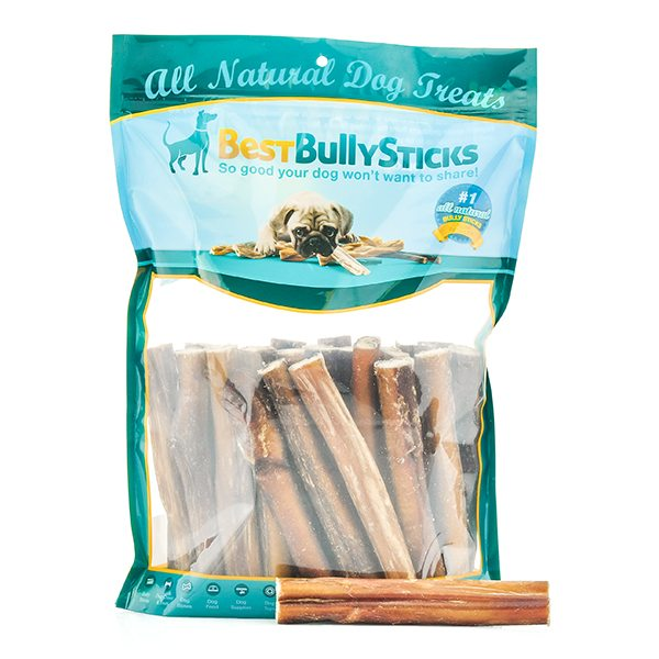 Best Bully Sticks are made from 100%, grass-fed beef.
