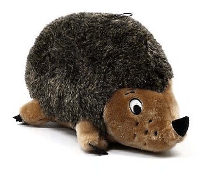 The Outward Hound Hedgehogz toy is durable and resilient.